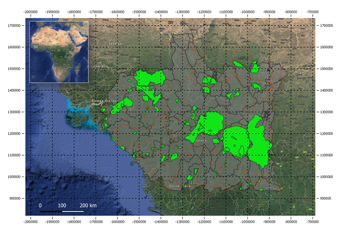NCA ENCA IUCN demonstration Senegal and Guinée