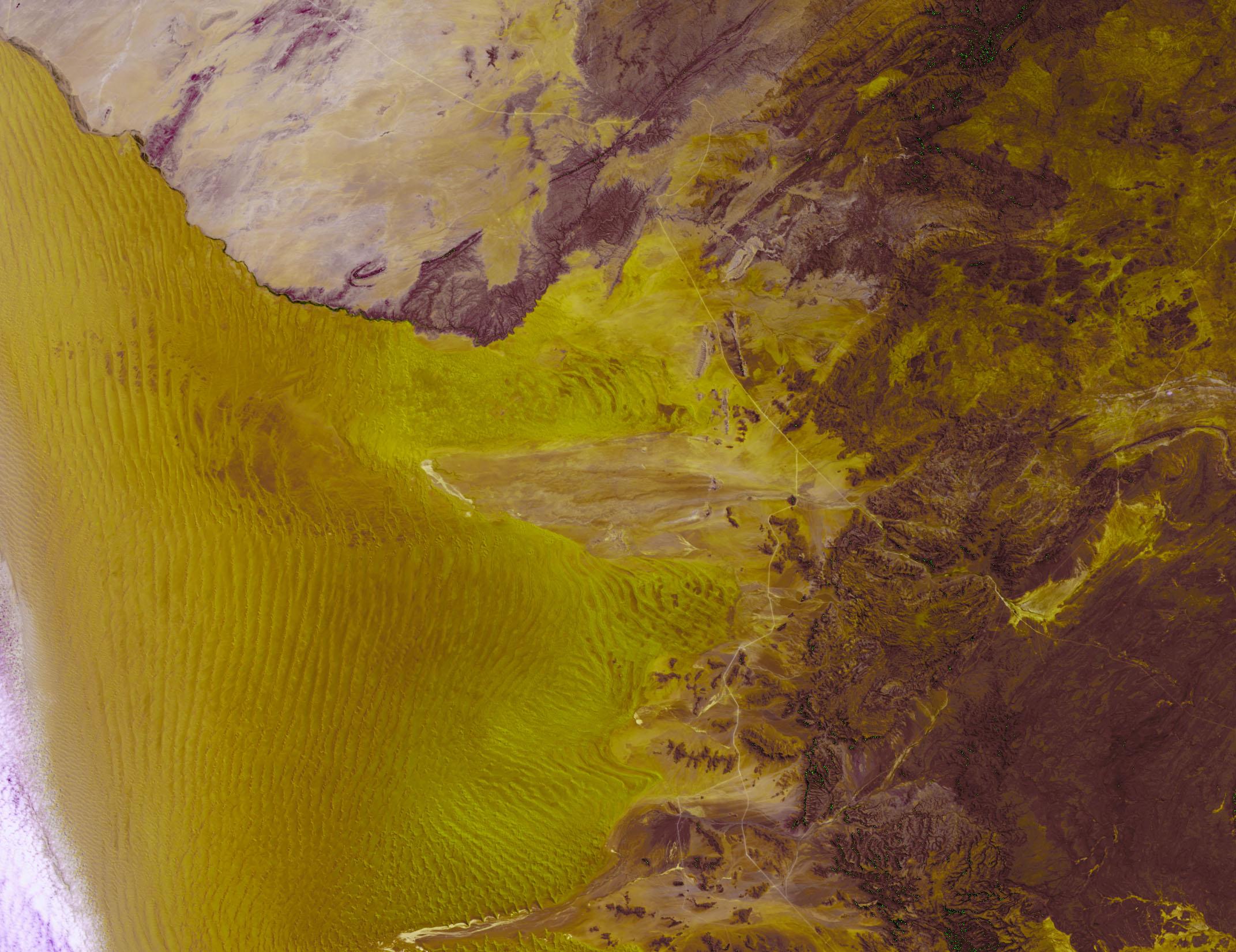 PROBA-V 100 m image of Namibia, Africa